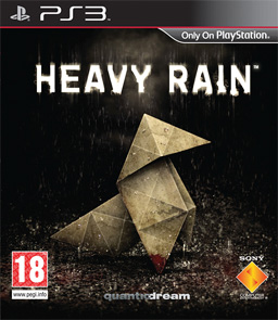 Heavy Rain European cover art
