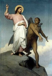 Temptation of Christ by Ari Scheffer